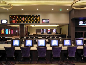 The new bingo room at Green Valley Ranch Casino.