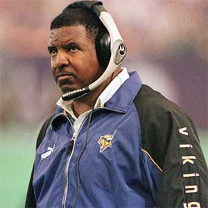 Denny Green is the second-winningest Vikings coach behind Bud Grant.