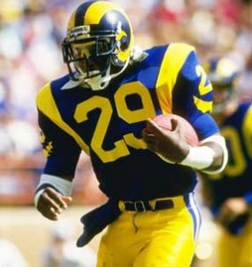Eric Dickerson ran for 2,105 yards during the 1984 NFL season. No one has bested that mark since.