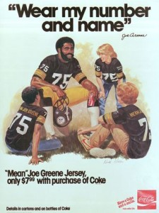 Mean Joe Greene and Coca-Cola made having a jersey of your favorite player cool.