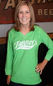 Tanner's Ladies 3/4 Sleeve Hooded Slub Tee (JA8153)