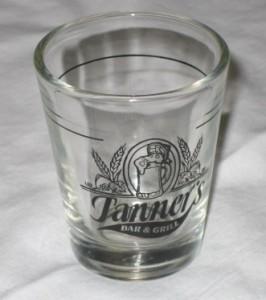 Tanner's Shot Glass