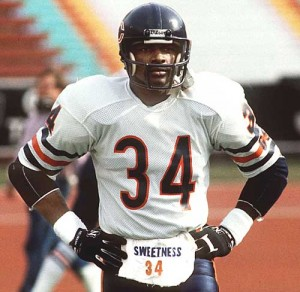 Walter Payton, a.k.a. Sweetness. This jersey will never go out of style.