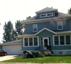 The house where I grew up.