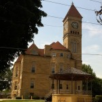 The Grundy County Courthouse.