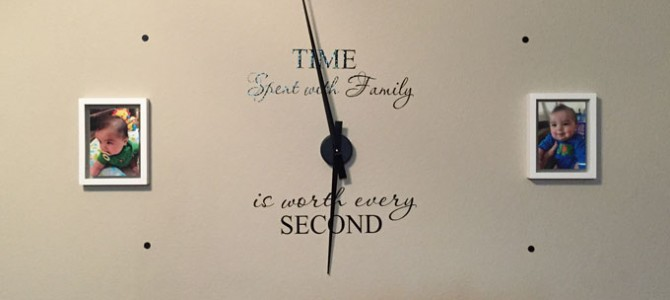 Building A Large Wall Clock