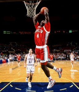 UNLV star Larry Johnson.