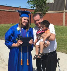 My niece Brynn graduated from Dike-New Hartford High School last weekend.