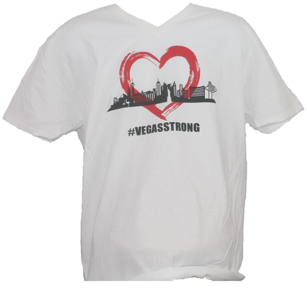 Las Vegas Strong V-Neck T-Shirt