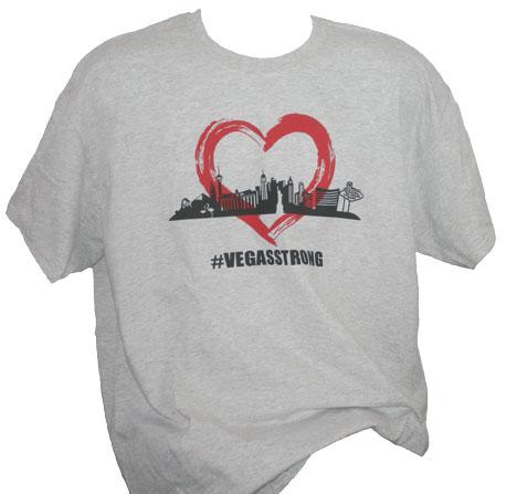 Las Vegas Strong Adult Men's T-Shirt